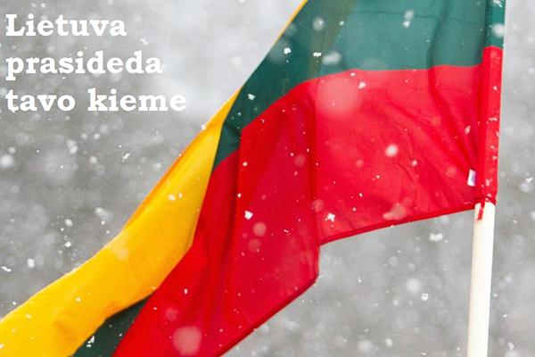 Su Lietuva, lietuviai !