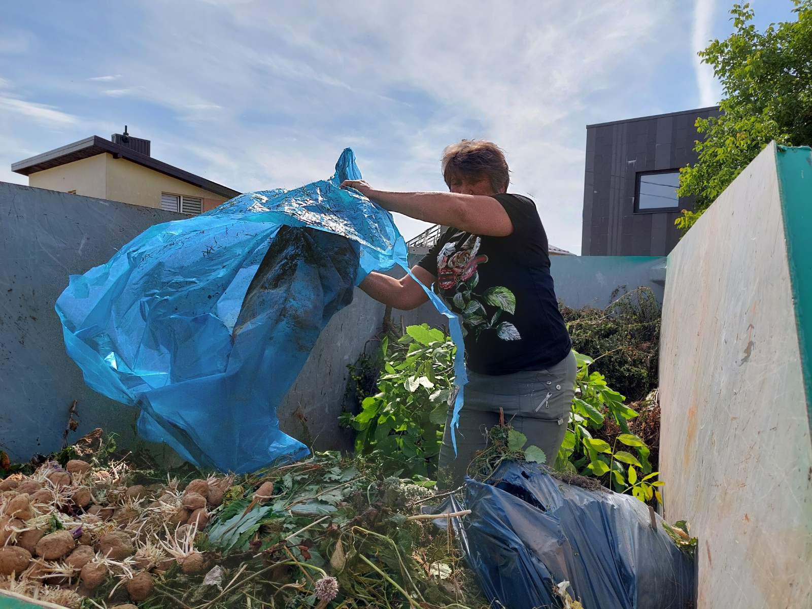 Žaliųjų atliekų konteineris